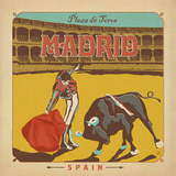 Madrid Print by  Anderson Design Group