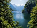 Koenigssee Lake Alpes Mountains Bavaria 6 Art by  Grab My Art