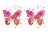 Butterfly 6 Posters af  Lebens Art