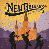 Neworleans Square Art by  Anderson Design Group