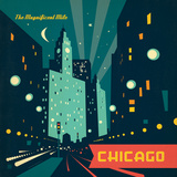 Chigago Magmile Square Posters by  Anderson Design Group