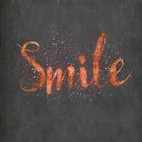 Smile - Square Print by  Lebens Art