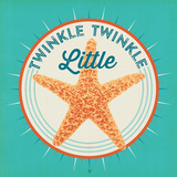Twinkle Twinkle Square Prints by  Anderson Design Group