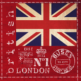 Britain - Square Prints by  Lebens Art