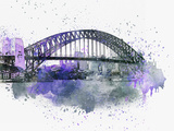 Sydney Harbor Bridge Posters by  Lebens Art