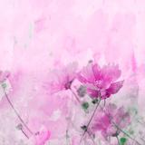 Summer Flower 4 - Square Prints by  Lebens Art