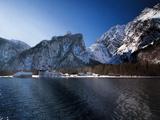 Koenigssee Lake Alpes Mountains Bavaria 3 Print by  Grab My Art