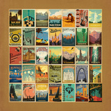 Pattern Border Posters by  Anderson Design Group