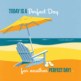 Another Perfect Day Square Posters by  Anderson Design Group