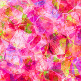 Triangles Abstract Pattern - Square 26 Posters by  Grab My Art