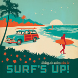 Surfsup Square Posters by  Anderson Design Group