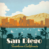Sandiego Square Prints by  Anderson Design Group