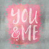 You And Me - Square Posters by  Lebens Art