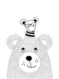 Bearmouse Prints by  Nanamia Design