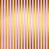 Pink Gold Glitter Pattern Stripes-Square Posters by  Grab My Art
