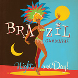 Brazil Carnaval Posters by  Anderson Design Group