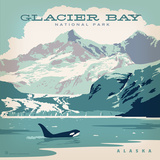 Glacier Bay Np Square Posters by  Anderson Design Group