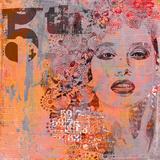 Woman Art - Square 2 Prints by  Lebens Art