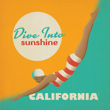 Divesunshine Ca Print by  Anderson Design Group