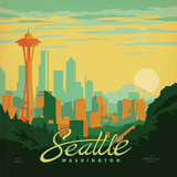Seattle Prints by  Anderson Design Group