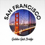 San Francisco Golden Gate Bridge Prints by Melanie Viola