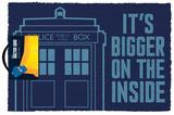 Doctor Who - TARDIS Door Mat Sjove ting