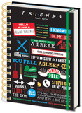 Friends - Infographic A5 Notebook Notebook