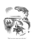 """""""That's one more reason not to like him."""" - New Yorker Cartoon Premium Giclee Print by Frank Cotham"""