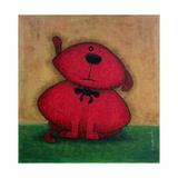 Red Dog Prints by  Kourosh