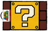 Super Mario - Question Mark Block Door Mat Regalos