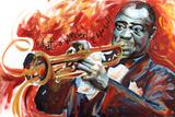 Louis Armstrong: What a Wonderful World Affiche par  Shen