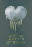 Too Frozen Poster