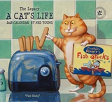 A Cat's Life - 2018 Calendar Calendários