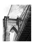 Under the Brooklyn Bridge Photographic Print by Phil Maier