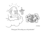 """""""Pretty good. The ending was a bit predictable."""" - New Yorker Cartoon Premium Giclee Print by John McNamee"""