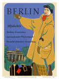 Berlin, Germany - International Film Festival - Germany Industry Print by Werner Wilhelm Buerger