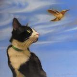 Fly Away Metal Print by Diane Hoeptner