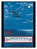 Europe, Africa, South America, Rio de Janeiro, Brazil - Aeropostale CGA Prints by  A.W.D.