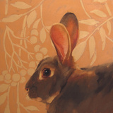 The Hare Metal Print by Diane Hoeptner
