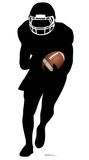 Football Player Runningback Silhouette Cardboard Cutouts