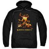 Hoodie: Mortal Kombat X- Goro Collage Pullover Hoodie