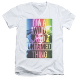 Rocky Horror Picture Show- Wild Thing V-Neck Shirts