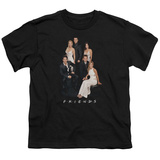Youth: Friends- Formal Black & Whites T-Shirt