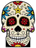 Day of The Dead Skull Cardboard Cutouts
