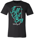 Fall Out Boy - Chicago T-shirts
