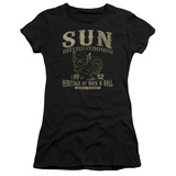 Juniors: Sun Records- Rockabilly Bird T-shirts