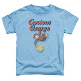 Toddler: Curious George- Hangin Out T-shirts