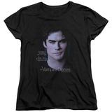 Womans: Vampire Diaries- Damon Killing The Messenger T-shirts