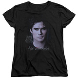 Womens: Vampire Diaries- Damon Killing The Messenger T-shirts