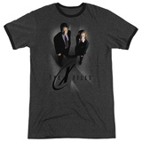 The X-Files- X Marks The Spot Ringer T-shirts